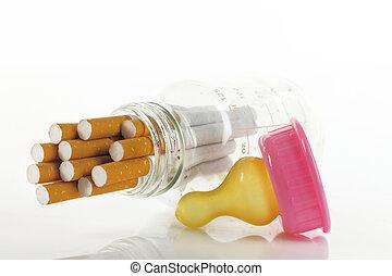 fumar, maternidad