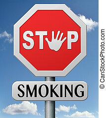 fumar, parada