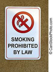 fumar, signboard