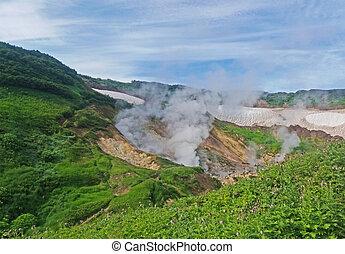 Fumaroles at Kamchatka