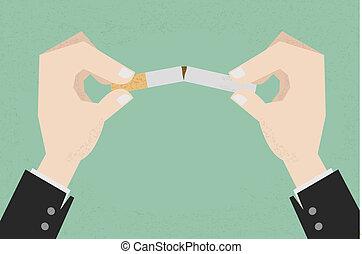fumer, arrêt