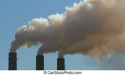 fumer, chimneys.