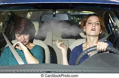 fumer, conduite