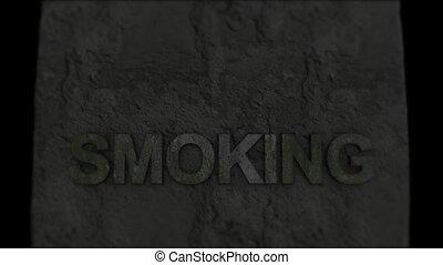 fumer, death., mort, engageant le pronostic vital, habits.