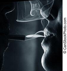fumer, gens