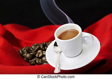 fumer, tasse à café