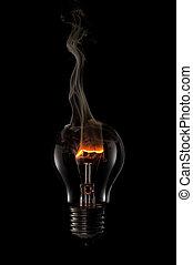 Fuming bulb