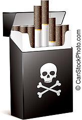 fumo, cattiva salute, tuo