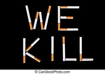 fumo, fermata