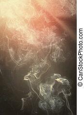 fumo, fondo