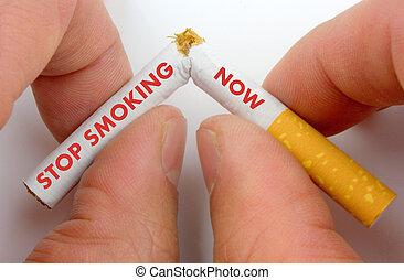 fumo, ora, fermata