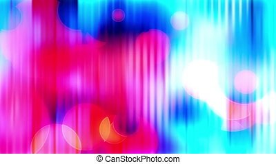 Fun abstract multicolor looping background