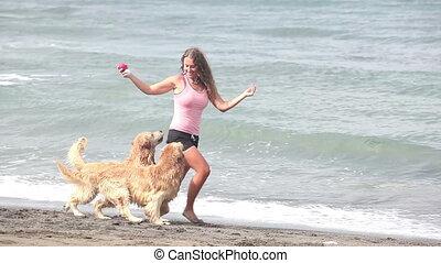 Fun at beach