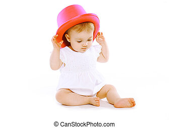 Fun baby in hat
