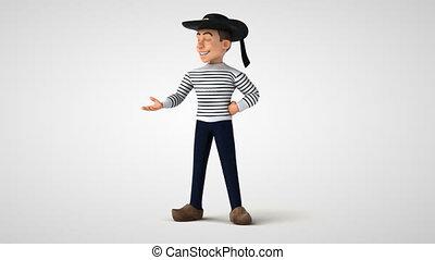 Fun breton character