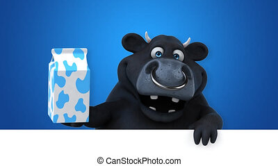 Fun bull - 3D Animation