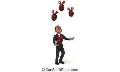 Fun businessman - 3D Animation