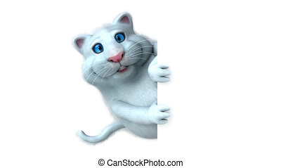 Fun cat - 3D Animation
