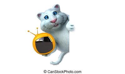 Fun cat - 3D Animation