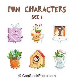 Fun characters set 1