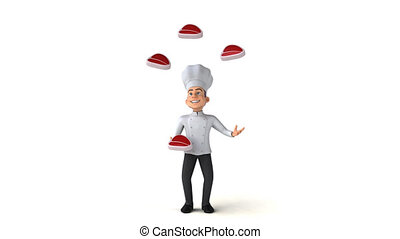 Fun chef - 3D Animation