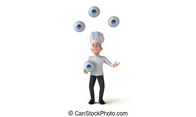 Fun chef - 3D Animation