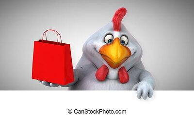 Fun chicken - 3D Animation