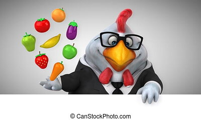 Fun chicken - 3D Animation
