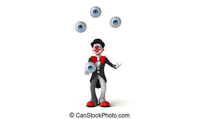 Fun clown - 3D Animation
