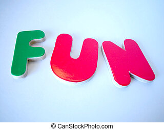 Fun - colorful letters