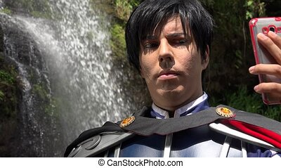Fun Cosplay Prince Selfie