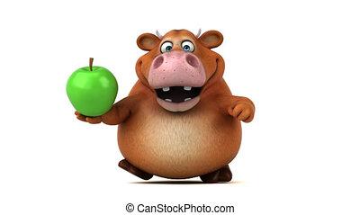 Fun cow - 3D Animation