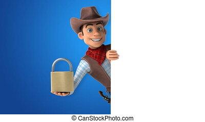 Fun Cowboy - 3D Animation