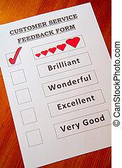 Fun Customer Service Feedback