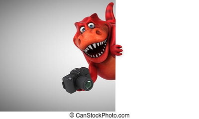 Fun dino - 3D Animation