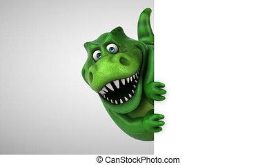 Fun dinosaur - 3D Animation