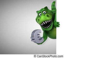 Fun dinosaur - 3D Animation