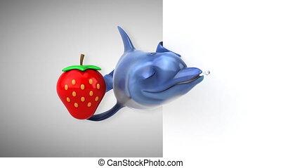 Fun dolphin - 3D Animation