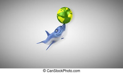 Fun dolphin - 3D Animation