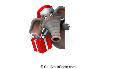 Fun elephant - 3D Animation