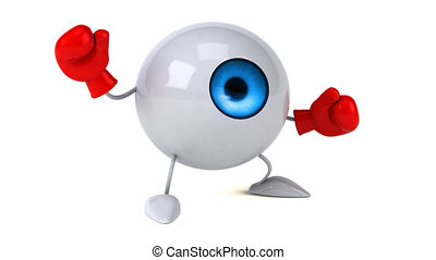 Fun eye - 3D Animation