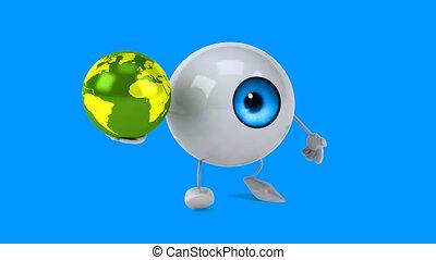 Fun eye - Computer animation