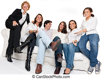 Fun family gathering