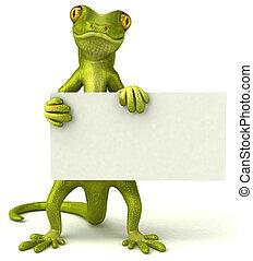 Fun gecko