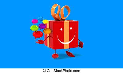 Fun gift - Digital animation