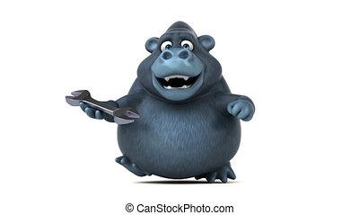 Fun gorilla - 3D Animation