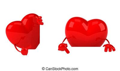 Fun heart clips - 4K 3D Animation
