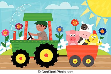 Fun in The Farm