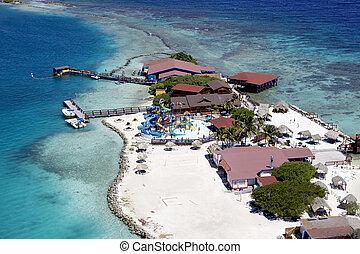 Fun in the Sun - A Fun Island offshore Aruba. Lots of Sun, ...
