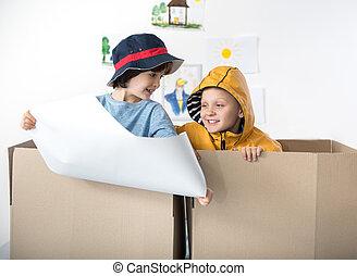 Fun indoor games of little dreamers